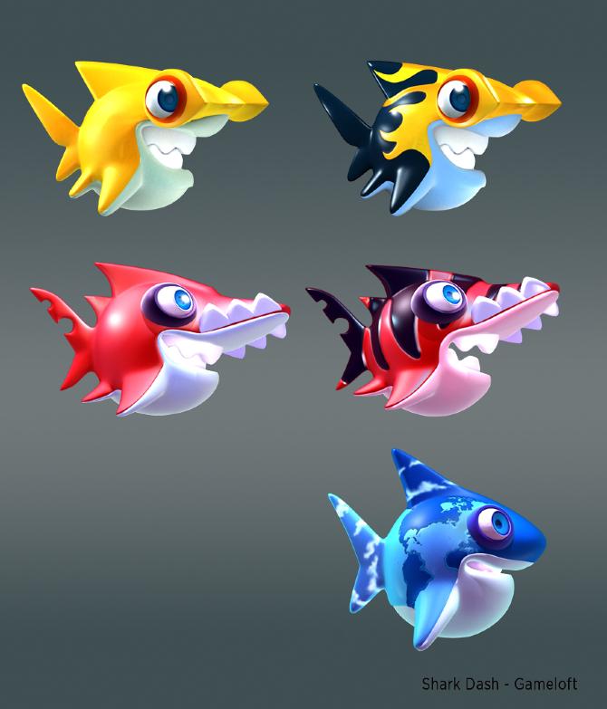 Shark Dash Gameloft Frkviloria