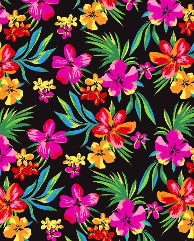 Hawaiian Florals - marisahopkins.com