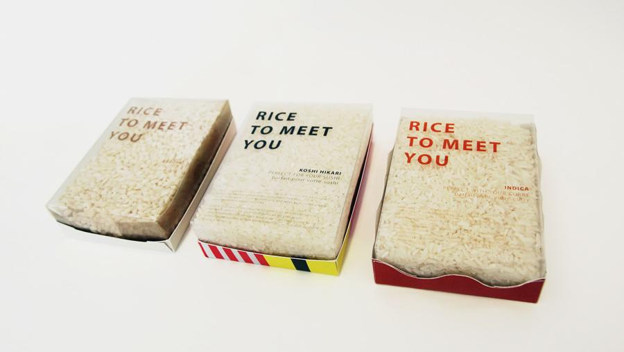 Rice Packaging Design Ideas