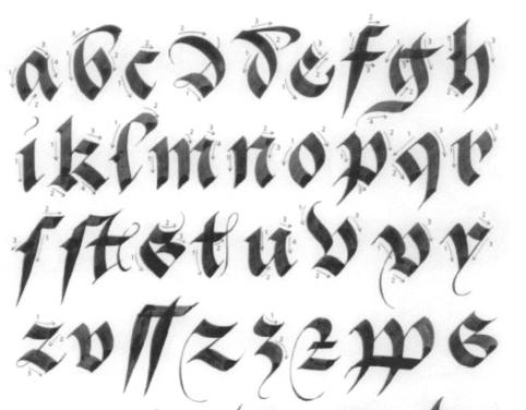 Modèles Calligraphiques De Claude Médiavilla Philippe Dabasse