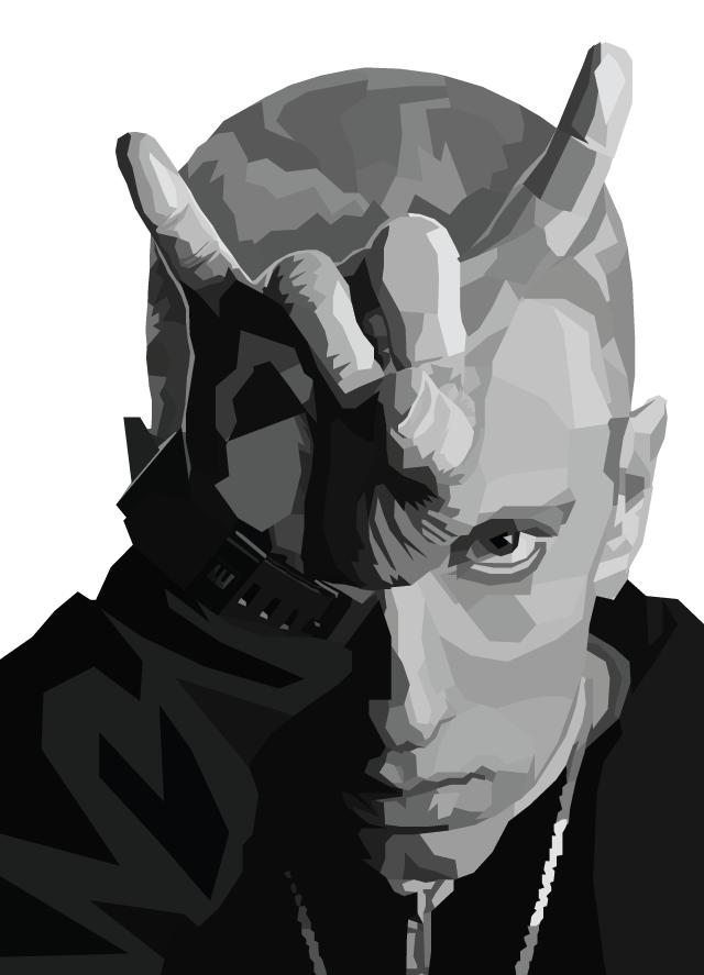 Eminem selon Nicholas Huggins