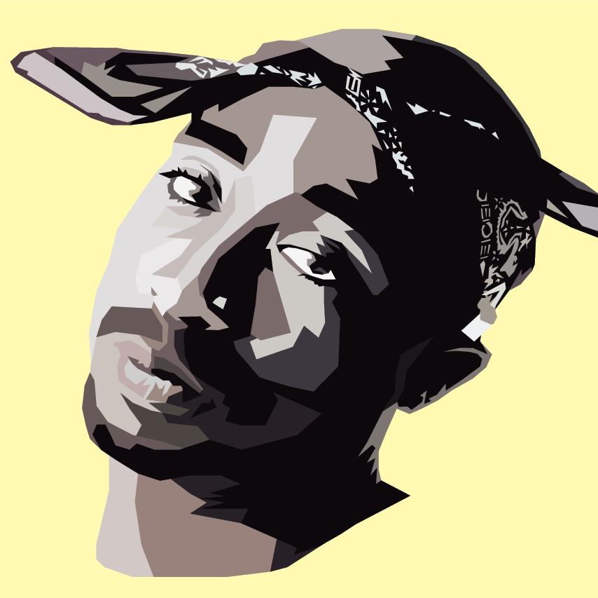 Tupac selon Nicholas Huggins