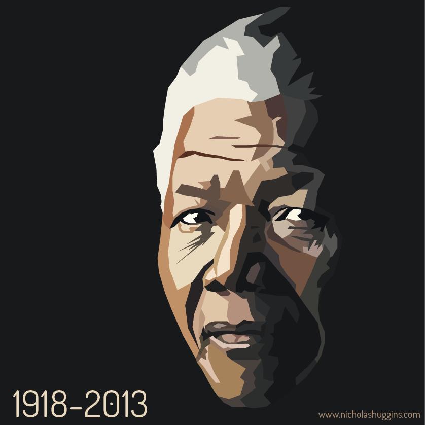 Nelson Mandela selon Nicholas Huggins