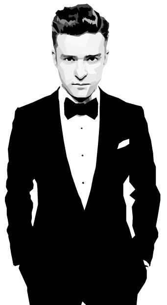 Justin Timberlake selon Nicholas Huggins