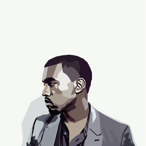 Kanye West selon Nicholas Huggins